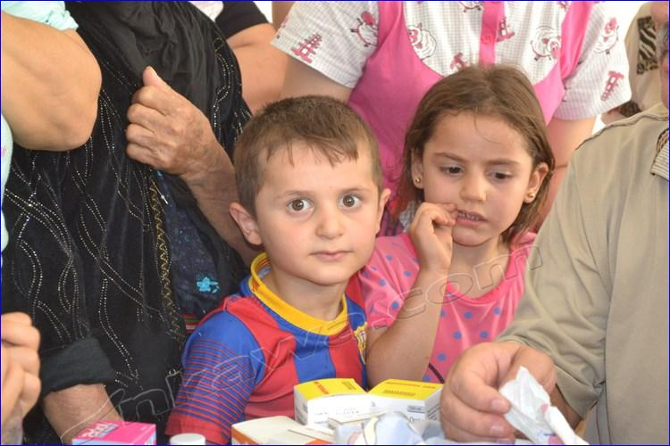Assyrian refugees in Arbel, Iraq, 2014.