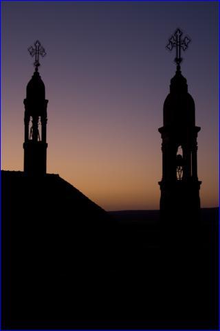 Belfries in the Monastery of Mor Gabriel (photo: Nathaniel Daudrich).
