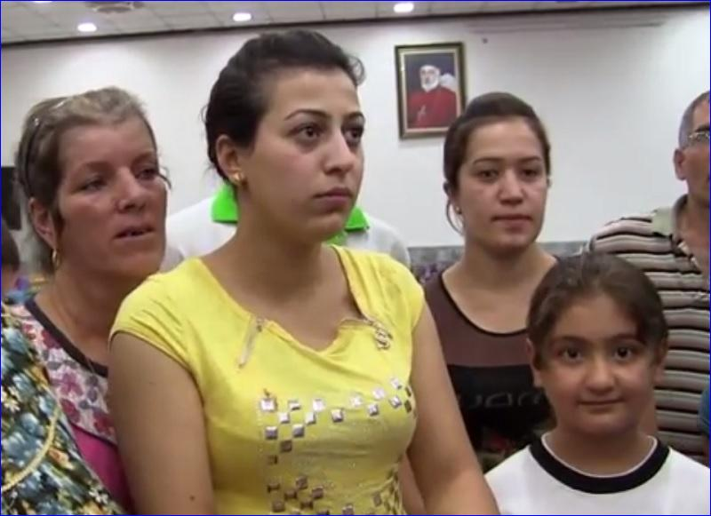 Assyrian residents from the town of Telsqof, now living as refugees in Ankawa, Iraq, interviewed by World Council of Churches.