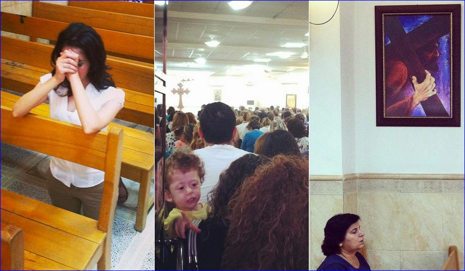 Scenes of Christian worship in Iraq (Photos: Jillian Kay Melchior).