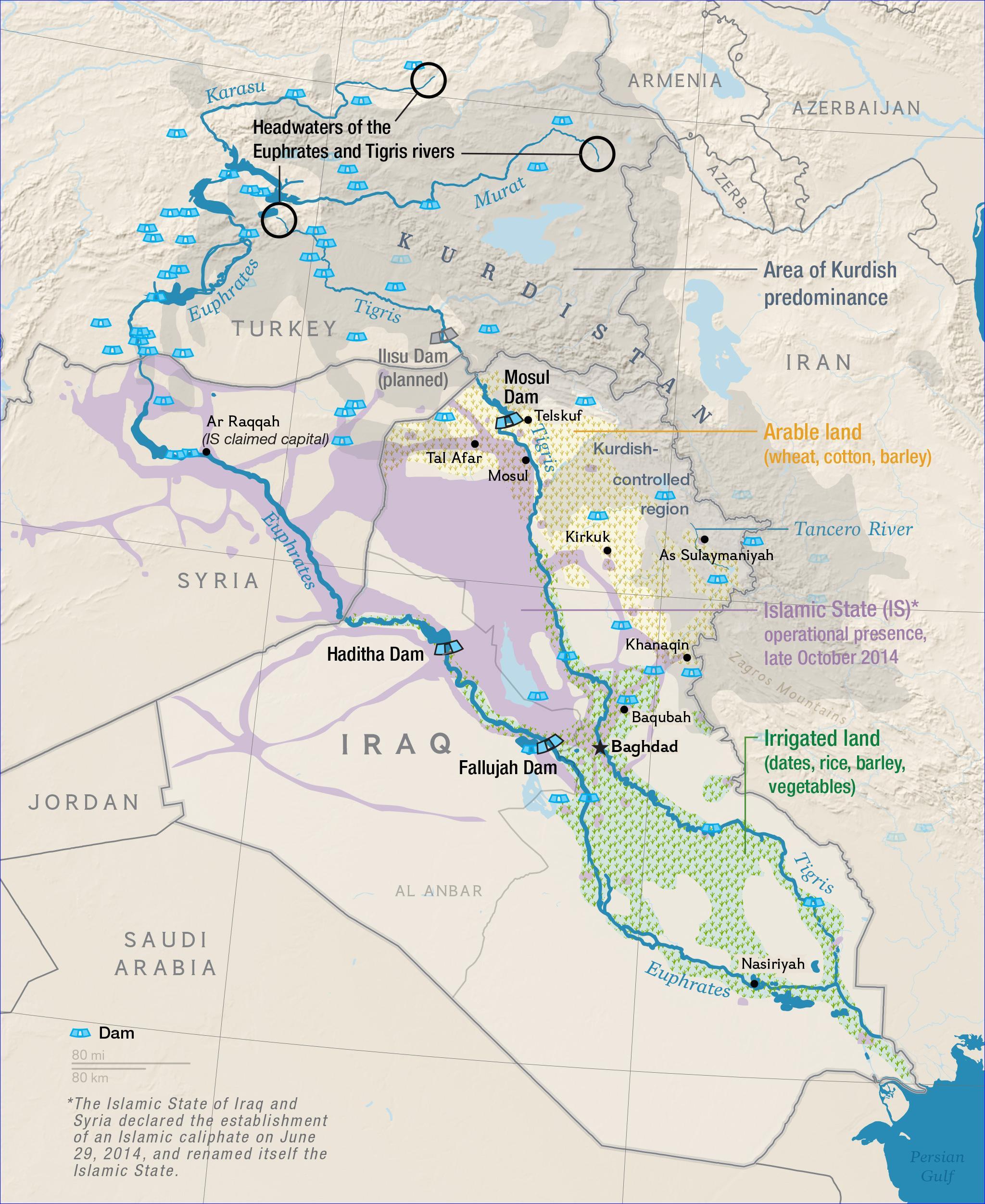 Amid Terror Attacks Iraq Faces Water Crisis