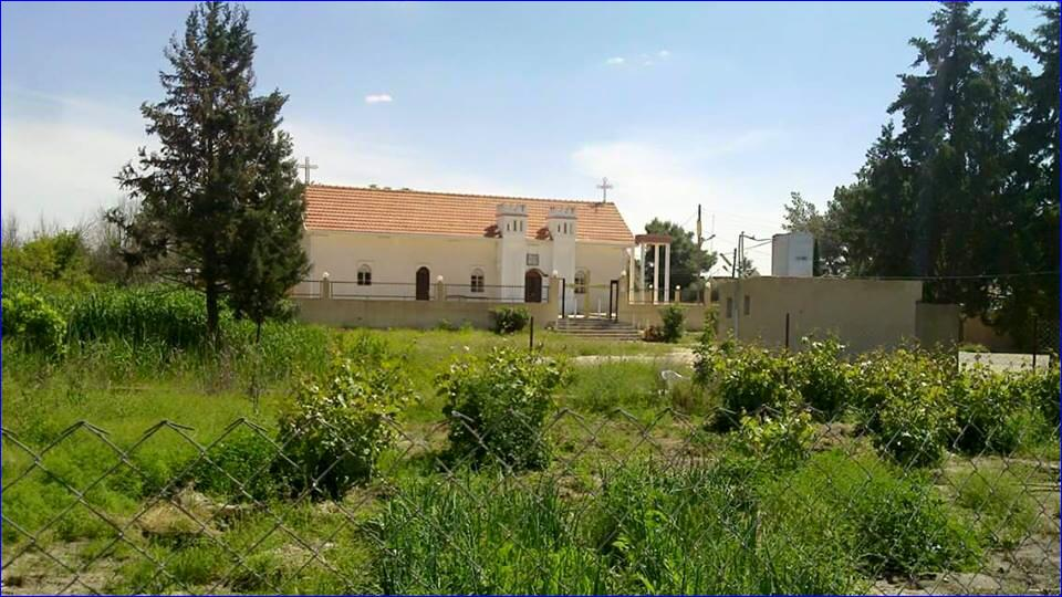 St. Bishu Church in the Assyrian village of Tel Shamiran, Syria, now occupied by ISIS.