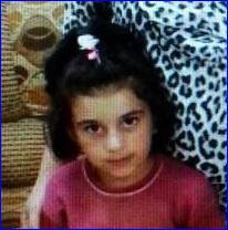 Mariana Mirza, 6, was released today, two days after her parents were released. (AINA photo).