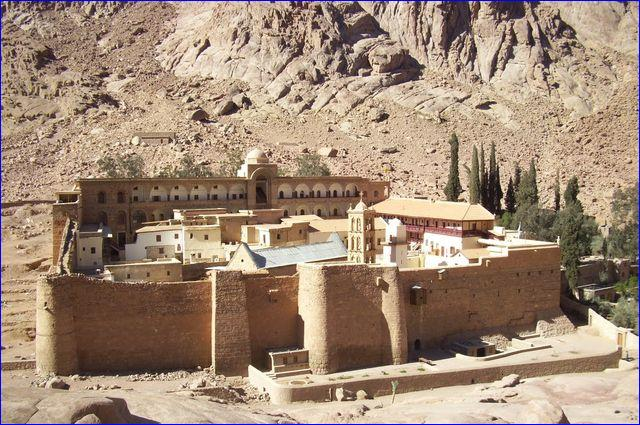 The fathers of St. Catherine's Monastery have been careful stewards of the oldest continually operating library in the world for centuries. More than 1,000 of its rare manuscripts will be available digitally through the UCLA Library. ( UCLA Library)