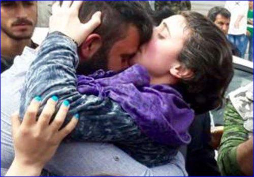 The day that Mariam Talya was released from the Islamic State's hands.