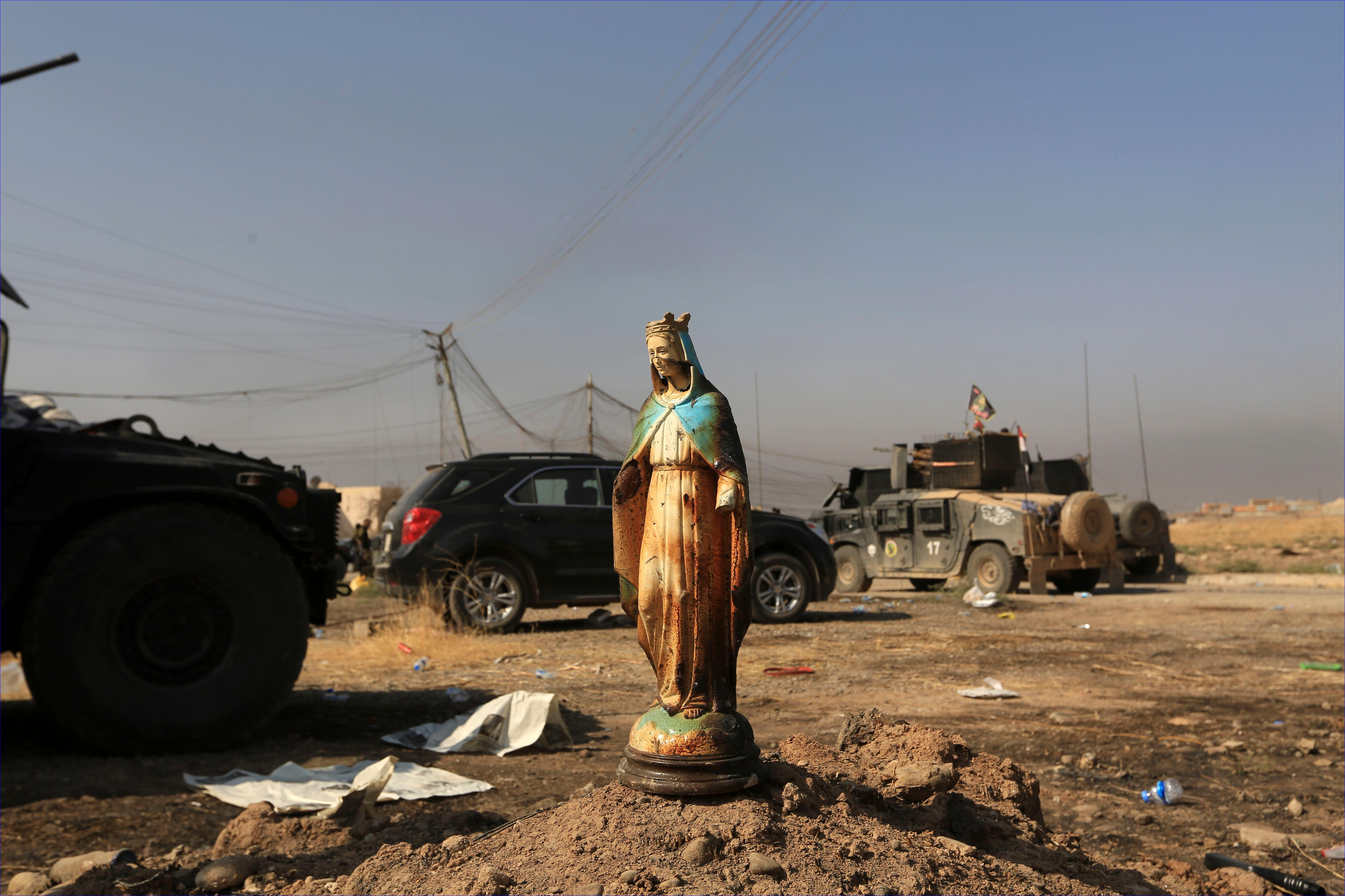Here's What Iraqi Forces Found After Liberating Assyrian Town