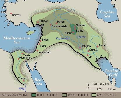 brief history of assyrians