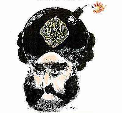 Muhammad cartoon from Jyllands-Posten