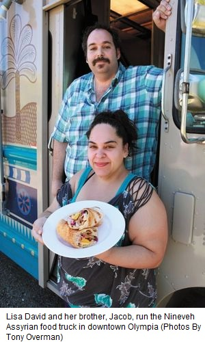 Olympia food truck connects assyrian cuisine tradition for Assyrian cuisine