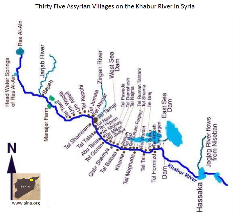 Maps of Assyria